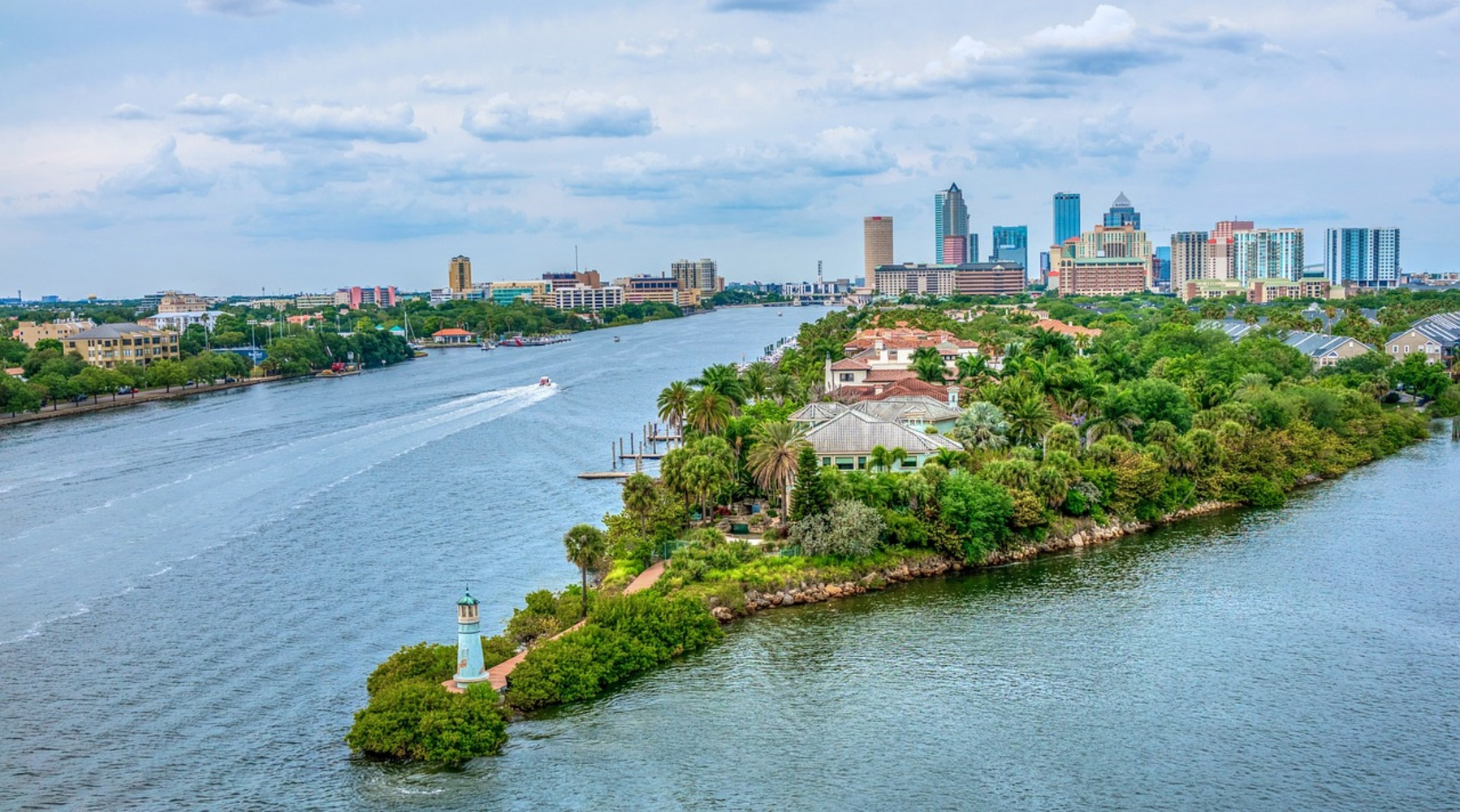 Image showing the cityscape of Tampa Florida